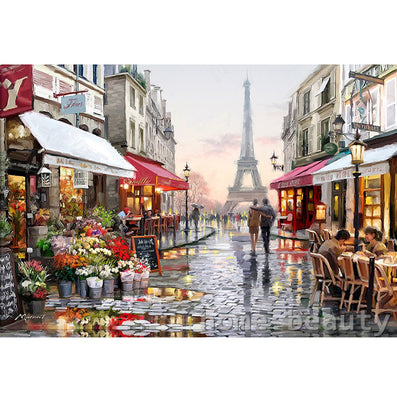 Diy digital oil painting by numbers paint drawing coloring by number canvas hand painted picture wall decor eiffel towel E190-Dollar Bargains Online Shopping Australia