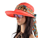 Free shipping 2016 summer hats for women chapeu feminino new fashion visors cap sun collapsible anti-uv hat 6 colors - Dollar Bargains - 1
