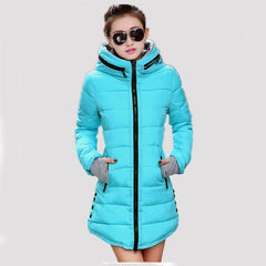 Women's Winter Jacket New Medium-long Down Cotton Female Parkas Plus Size Winter Coat Women Slim Ladies Jackets And Coats-Dollar Bargains Online Shopping Australia