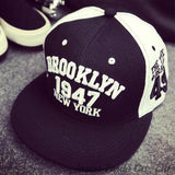 1947 Brooklyn Style Baseball Cap Sport Hat Gorras Planas Snapback Caps New York Hip Hop Hats Snapbacks Casquette Polo Cap - Dollar Bargains - 1