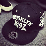 1947 Brooklyn Style Baseball Cap Sport Hat Gorras Planas Snapback Caps New York Hip Hop Hats Snapbacks Casquette Polo Cap - Dollar Bargains - 2