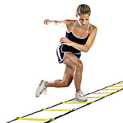 New Durable 9 rung 16.5 Feet 5M Agility Ladder for Soccer Speed Training Equipment BHU2-Dollar Bargains Online Shopping Australia