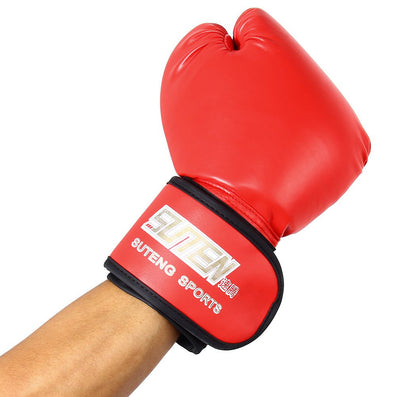 3 Colors SUTEN 1 Pair PU Leather Sport Fitness Boxing Kickboxing Training Fighting Sandbag Gloves for Fighters-Dollar Bargains Online Shopping Australia