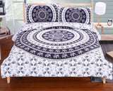 Mandala Bedding Set Concealed Bedspread Duvet Cover 2Pcs or 3Pcs Boho Bedlinen Twin Full Queen King Cal-King New-Dollar Bargains Online Shopping Australia
