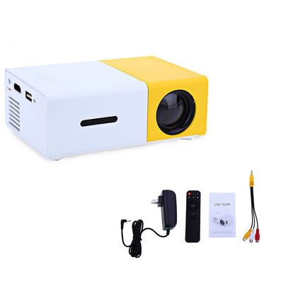 Aujoy YG300 YG310 LED Portable Projector 400-600LM 3.5mm Audio 320 x 240 Pixels YG-300 HDMI USB Mini Projector Home Media Player-Dollar Bargains Online Shopping Australia