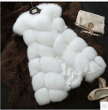 Arrival Winter Warm Fashion Women Import Coat Fur Vest High-Grade Faux Fur Coat Fox Fur Long Vest Plus Size-Dollar Bargains Online Shopping Australia