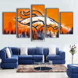 New Eagle Sports Team Logo Oil Painting On Canvas Modern Home Pictures Prints Liveing Room Deco-Dollar Bargains Online Shopping Australia