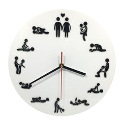 Kama Sutra Sex Position Clock / 24Hours Sex Clock / Novelty Wall Clock-Dollar Bargains Online Shopping Australia