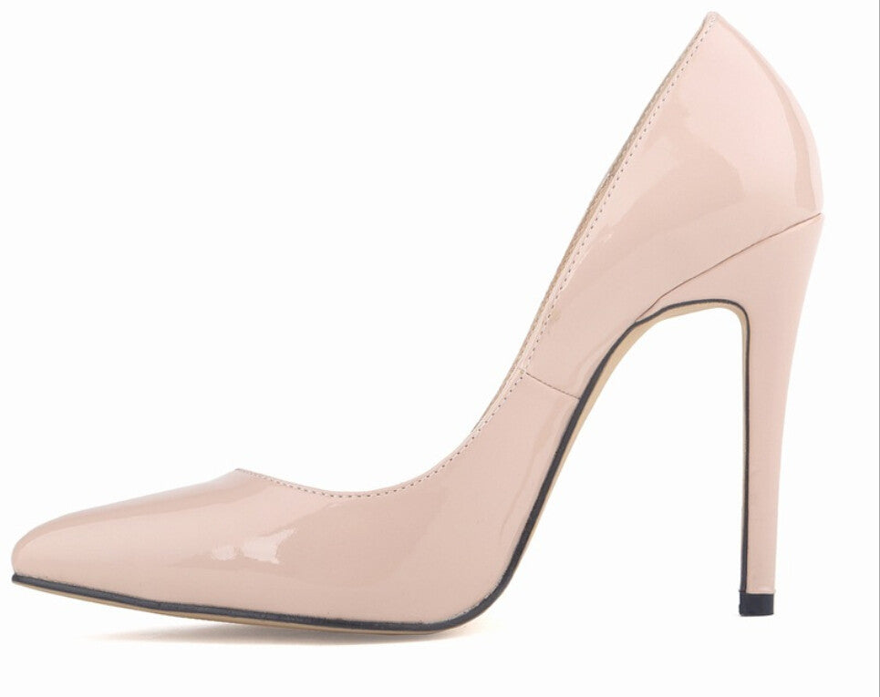 fcb99048acb4 New fashion sexy pointed toe high heels shoes woman weeding party women s  pumps size 35-