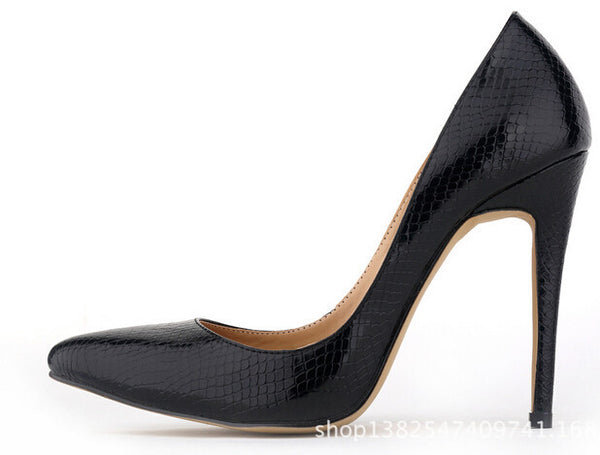 e6a6d9a1d New fashion sexy pointed toe high heels shoes woman weeding party women's  pumps size 35-