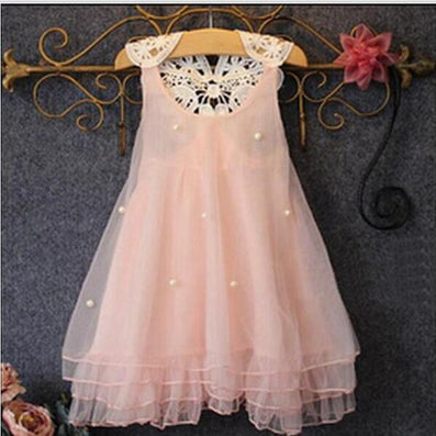 summer dress girl dress for 2-13 age bow floral Girls Princess Party Bow Kids Formal Dress-Dollar Bargains Online Shopping Australia