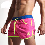 Quick Dry Men's Board Shorts Fashion Sea Maillot De Bain Sexy Beach Bermuda Elastic Waist Lining Liner Men's Board Shorts AC432-Dollar Bargains Online Shopping Australia