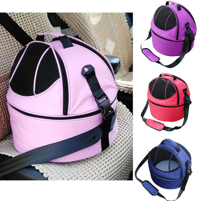 3 In 1 Pet Car Travel Carrier Dog Slings Tote Bag Cat Kennels Basket Mobile Pet Bed-Dollar Bargains Online Shopping Australia