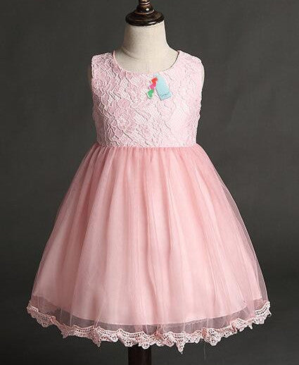 aae9a079c New summer and autumn Princess Girls Party Dresses for party baby fashion  Pink Tutu dress Girls