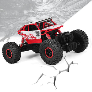 Free Shipping RC Car 4WD Rock Crawlers 4x4 Driving Car Double Motors Drive Bigfoot Car Remote Control Model Off-Road Vehicle Toy - Dollar Bargains - 1