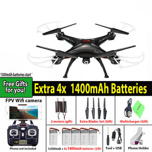 SYMA X5SW / X5SW-1 WIFI RC Drone Quadcopter with FPV Camera Headless 6-Axis Real Time RC Helicopter Quad copter Toys - Dollar Bargains - 1