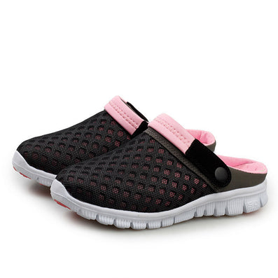 Summer New Men Women Slip-on flats Shoes Breathable Mesh Leisure Shoes Unisex Couples Casual Shoes Zapatos-Dollar Bargains Online Shopping Australia
