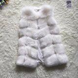 New Winter Coat Women Fashion Import Overcoat Whole Peel Fox Fur Faux Vest High-Grade Cappa Fur Coat Leisure Women Coat-Dollar Bargains Online Shopping Australia