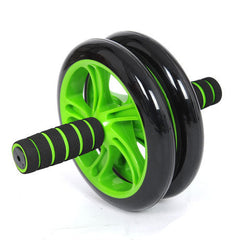 Brand New No Noise Green Abdominal Wheel Ab Roller With Mat For Exercise Fitness Equipment-Dollar Bargains Online Shopping Australia