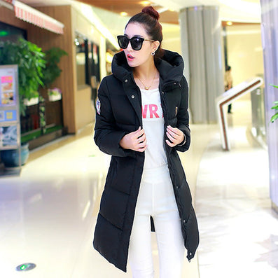 Winter Women Long Warm Cultivate One's Morality Upset Down Jacket Have Big Yards Fashion Coat Female Padded Parka-Dollar Bargains Online Shopping Australia