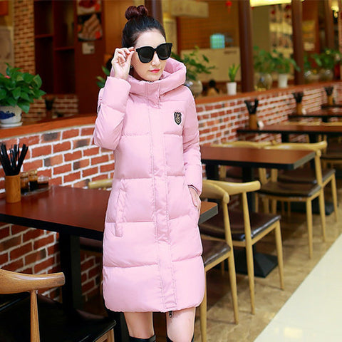 2016 New Winter Women Long Warm Cultivate One's Morality Upset Down Jacket Have Big Yards Fashion Coat Female Padded Parka - Dollar Bargains - 3