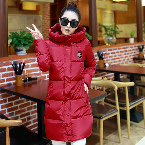 2016 New Winter Women Long Warm Cultivate One's Morality Upset Down Jacket Have Big Yards Fashion Coat Female Padded Parka - Dollar Bargains - 5