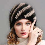FURTALK Women Real mink fur hat winter fur hat Russian Women Winter Hat Beanie-Dollar Bargains Online Shopping Australia