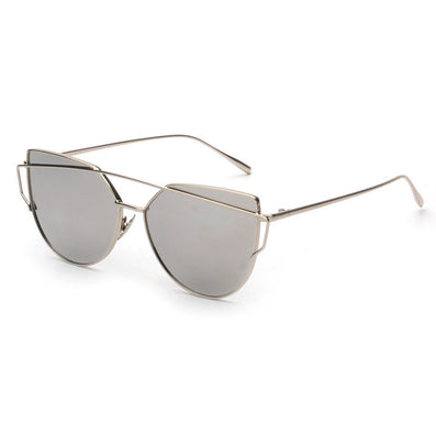 NEW Brand Designer Women Sunglasses Metal Frame Flat Sun glasses Vintage Mirror Shades ss495-Dollar Bargains Online Shopping Australia