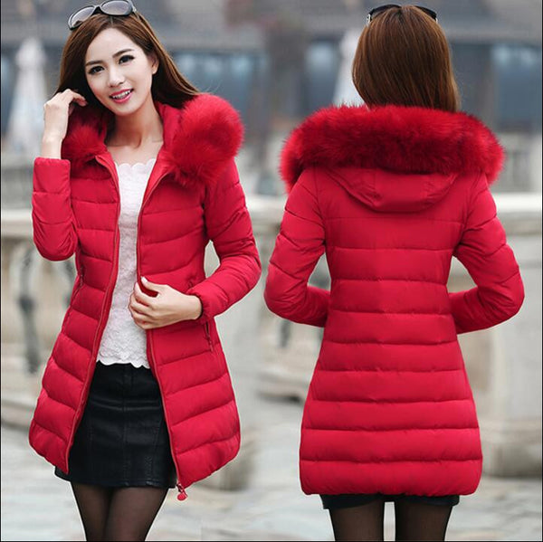 4c9f0e6f5be Womens Winter Jackets And Coats Thick Warm Hooded Down Cotton Padded Parkas  For Women's Winter Jacket