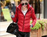 2016 New Wadded Jacket Female Women Winter Jacket Down Cotton Coat Slim Parkas Ladies Plus Size Womens Jackets And Coats C2262 - Dollar Bargains - 18