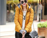 2016 New Wadded Jacket Female Women Winter Jacket Down Cotton Coat Slim Parkas Ladies Plus Size Womens Jackets And Coats C2262 - Dollar Bargains - 13