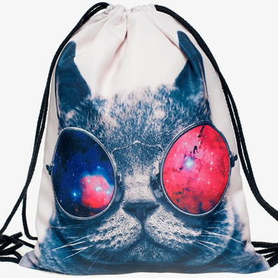 2016 new fashion Women Emoji Backpack 3D printing travel softback  women mochila drawstring bag mens backpacks - Dollar Bargains - 3