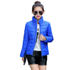 Women Ultra Light Down Jacket Winter Duck Down Jackets Women Slim Thin Long Sleeve Parka Zipper Coats Pockets Solid-Dollar Bargains Online Shopping Australia