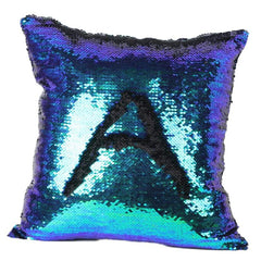 New Qualified 2Cushion Cover New 8 Kinds Double Color Glitter Sequins Throw Pillow Case Cafe Home Decor Cushion Covers dig6422-Dollar Bargains Online Shopping Australia