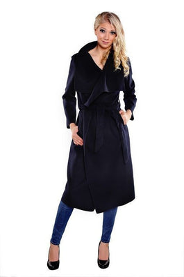 spring fashion Casual women's wool blend Trench Coat long Outerwear loose clothes for lady good-Dollar Bargains Online Shopping Australia