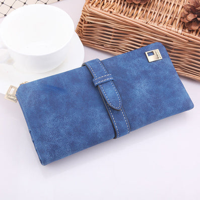 Susan' HOT Women Ladies Female Long Matte PU Leather Hasp Clutch Wallets Coin Purses Card Holder Handbag Monedero-Dollar Bargains Online Shopping Australia
