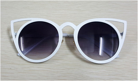 2016 New Women sunglasses Vintage cat eye Sun glasses Metal Eyeglasses Frames Mirror shades Sexy Sunnies ss309 - Dollar Bargains - 6