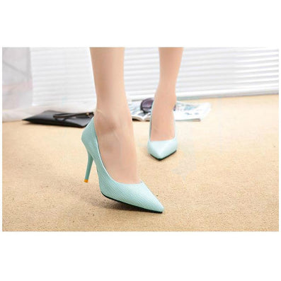 2016 New Fashion Spring Summer Women High Heels Pointed Toe Sandals Shoes Pumps Party Womens Plus Size Female Wedding Shoes O127 - Dollar Bargains - 5