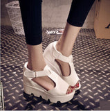 SUMMER STYLE Platform Sandals Shoes Women High Heel Casual Shoes Open Toe Platform Gladiator Trifle Sandals Women Shoes-Dollar Bargains Online Shopping Australia
