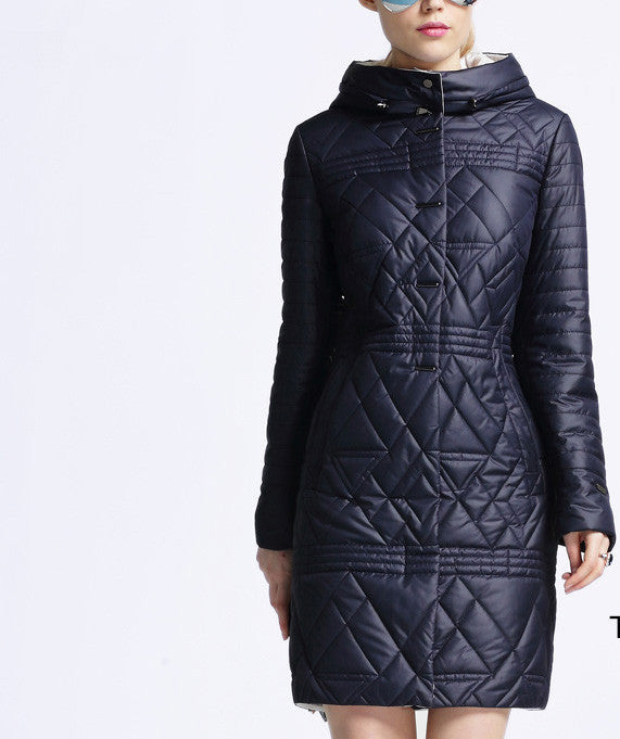 Spring jacket women winter coat women warm out Thin Padded cotton  on