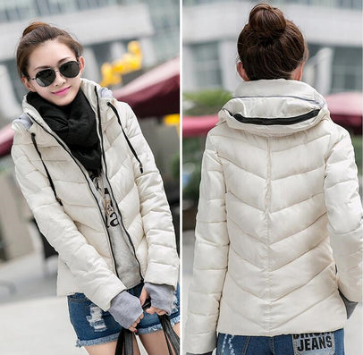 2016 Winter Jacket Women Parka Thick Winter Outerwear Plus Size Down Coat Short Slim Design Cotton-padded Jackets And Coats TD1 - Dollar Bargains - 6