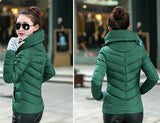 2016 Winter Jacket Women Parka Thick Winter Outerwear Plus Size Down Coat Short Slim Design Cotton-padded Jackets And Coats TD1 - Dollar Bargains - 12