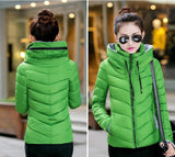 2016 Winter Jacket Women Parka Thick Winter Outerwear Plus Size Down Coat Short Slim Design Cotton-padded Jackets And Coats TD1 - Dollar Bargains - 16