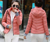 2016 Winter Jacket Women Parka Thick Winter Outerwear Plus Size Down Coat Short Slim Design Cotton-padded Jackets And Coats TD1 - Dollar Bargains - 18