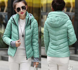 2016 Winter Jacket Women Parka Thick Winter Outerwear Plus Size Down Coat Short Slim Design Cotton-padded Jackets And Coats TD1 - Dollar Bargains - 9