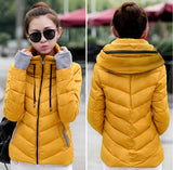 2016 Winter Jacket Women Parka Thick Winter Outerwear Plus Size Down Coat Short Slim Design Cotton-padded Jackets And Coats TD1 - Dollar Bargains - 2