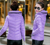 2016 Winter Jacket Women Parka Thick Winter Outerwear Plus Size Down Coat Short Slim Design Cotton-padded Jackets And Coats TD1 - Dollar Bargains - 11