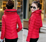 2016 Winter Jacket Women Parka Thick Winter Outerwear Plus Size Down Coat Short Slim Design Cotton-padded Jackets And Coats TD1 - Dollar Bargains - 14