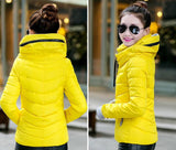 2016 Winter Jacket Women Parka Thick Winter Outerwear Plus Size Down Coat Short Slim Design Cotton-padded Jackets And Coats TD1 - Dollar Bargains - 7