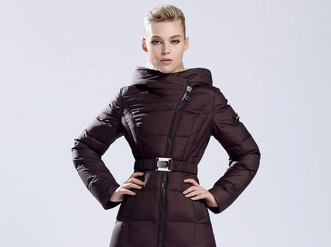 Womens winter down jackets and coats women High Quality Warm Female thickening Warm Parka Hood Over Coat-Dollar Bargains Online Shopping Australia